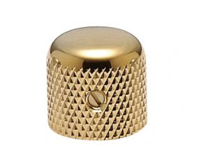 Brass Dome Knob Gold